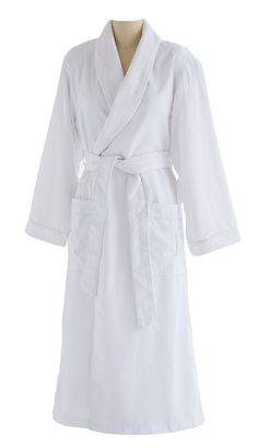 4e7a64bbf5 Ultimate Doeskin Brushed Microfiber Bathrobe Lined in Terry