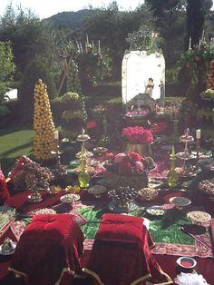 True Persian wedding.