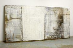 201 3 - 244 x 1 23 x 5.5 cm - Mischtechnik auf Holzplatte mit rückseitigen Holzrahmen ● nicht mehr verfügbar , Abstrakte, Kuns...