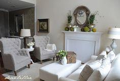 Dear Lillie: Living Room