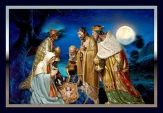 I would be honored if you would check out my new artwork Wise Men still seek Him Thank you Karen