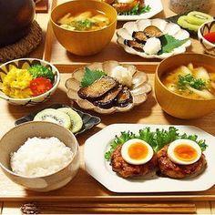節約レシピ Japanese Dinner, Japanese Food, Cooking Recipes, Healthy Recipes, Morning Food, Side Recipes, Food Menu, No Cook Meals, Food Photo