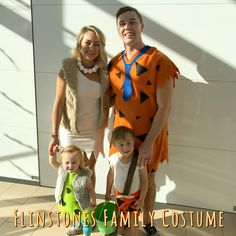 Halloween Flinstones Family Costume! #handmade #cute #halloween #costumes #diy #ideas