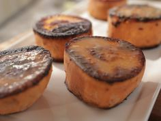 Get this all-star, easy-to-follow Miso-Seared Sweet Potatoes recipe from Damaris Phillips