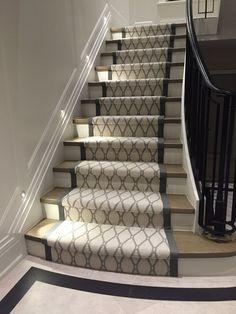 Carpet Runner Rods For Stairs Staircase Remodel, Staircase Makeover, Carpet Tiles, Carpet Flooring, Wall Carpet, Stairway Carpet, Staircase Runner, Stair Runners, Basement Carpet