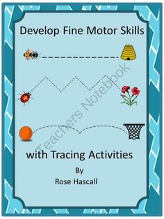 Develop Fine Motor Skill with Tracing Activities  Pre-K, K, Special Education, Autism from smalltowngiggles on TeachersNotebook.com (22 pages)