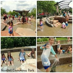Family Fun Idea: Best Twin Cities Splash Pad & Thursday Rockin' Lunch Hour at Nicollet Commons Park