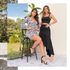 ¿Vestido o falda? Combina tus favoritos como quieras. Haz clic en la imagen y compra online>> High Low, Dresses, Fashion, Long Skirts, Elegant, Vestidos, Moda, Fashion Styles, Dress
