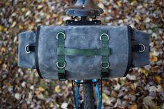 DIY Long Flap Saddlebag - like Carradice Camper Longflap - for bike touring