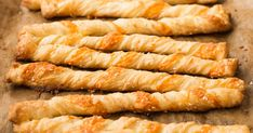 Crunchy Cheese Straws from Host the Perfect Parisian Picnic for Bastille Day Anna Olson, Avocado Recipes, Snack Recipes, Can Pizza, Recipes With Parmesan Cheese, Cheese Twists, Cheese Straws, Bastille Day, Homemade Cheese