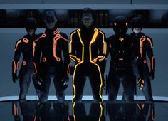 Tron Legacy, Clu with Rinzler, Jarvis, and sentries