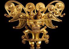 Anthropomorphic pectoral, Colombia, Tairona, AD 900–1600. © Museo del Oro – Banco de la República, Colombia. Trustees of the British Museum