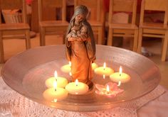 Candlemas - The feast of the Virgin Solstice And Equinox, Candle Jars, Candles, End Of Winter, Hail Mary, Sabbats, Festival Lights, Mother Mary, Family Traditions