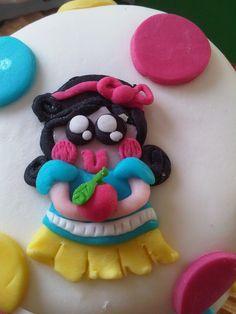 Snow White sugar paste
