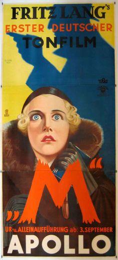 "Fritz Lang's ""M"", 1931"