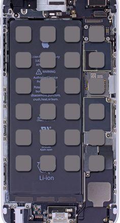 クールiPhone6Plus基板棚   wallpaper.sc iPhone6sPlus壁紙