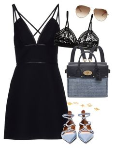"""""""Short dress and backpack"""" by alwayswearwhatyouwanttowear ❤ liked on Polyvore featuring Prada, Valentino, Chloé, Mulberry, outfit, outfits and fashionset"""