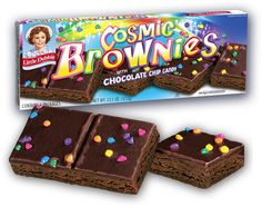 Space Camp Giveaway! | Cosmic Brownies | Little Debbie -- no matter how much I try to avoid junk food, I always find my way back to Little Debbie eventually. lol