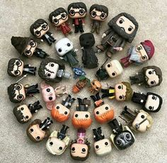 I have the Dumbledore one Figurine Pop Harry Potter, Harry Potter Pop Figures, Deco Harry Potter, Harry Potter Dolls, Mundo Harry Potter, Harry Potter Room, Harry Potter Fandom, Harry Potter Memes, Geeks