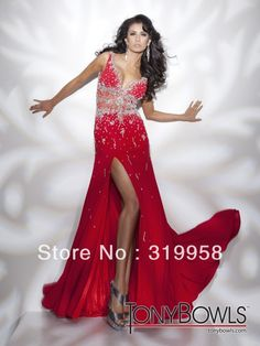 Custom Lastest Designer Cap Short Sleeves Crystals Sheath Chiffon Red Evening Formal Dresses Party Prom Cocktail Dress Gown(China (Mainland))