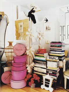 Décor Inspiration -- Interiors Redux | At Home With : Hervé Pierre, Paris & New York