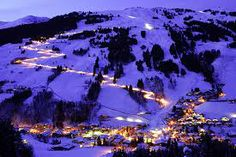 Reiterkogel has a new flood-lit toboggan run for night skiing. My Travel Map, Places To Travel, Places To Go, Salzburg, Beautiful Places To Visit, Alps, Beautiful Pictures, Around The Worlds, Adventure