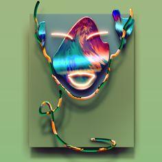 Vasya Kolotusha #fridom #art #neon