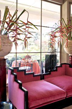 KELLY WEARSTLER   INTERIORS. Hillcrest Estate, Living Room