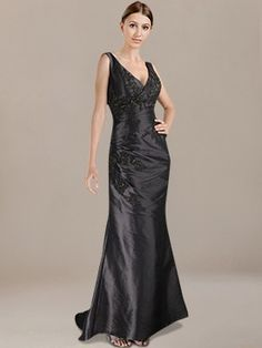 Discount Mother of the Bride Dresses_Black