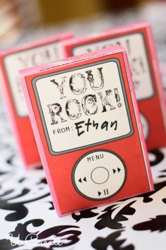 Box Labels for Valentine Conversation Hearts with Free Printables