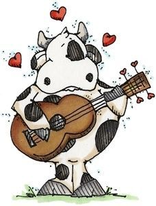 Whipper Snapper Designs is an expansive online store selling a large variety of unique rubber stamp designs. Cow Drawing, Line Drawing, Farm Animals, Cute Animals, Cow Craft, Cartoon Cow, Cute Cows, Cute Clipart, Country Paintings