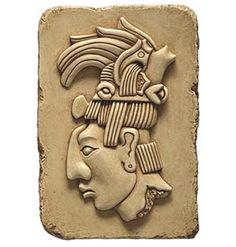 HEAD-OF-MAYA-KING-PACAL-RELIEF-WALL-PLAQUE
