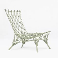"Marcel Wanders' seminal 1996 Knotted Chair was ""a little miracle"""