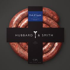 Branding and packaging design for a new brand of sausages in Chile.
