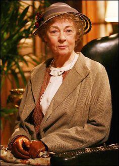 Geraldine McEwan as Agatha Christie's Miss Marple