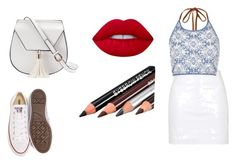 """""""Going To The Mall"""" by lildae on Polyvore featuring Topshop, River Island, Converse, Yoki and Lime Crime"""