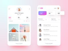 "App concept (Zedian). Working on messaging to enhance filter option for fans, agencies, followers blah blah blah... JK Press ""L"" to appreciate ❤️ 👍 . Follow me on Dribbble for more exciting shots. ..."