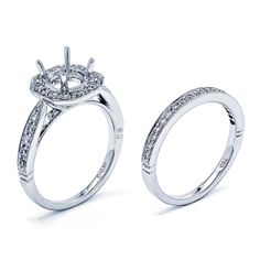 Round Center Vintage Wedding Set