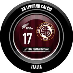 DNZ Football Buttons: AS Livorno Calcio
