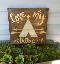 "Handwritten, handpainted 12"" by 12"" quote on solid wood. 