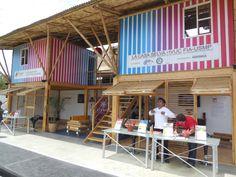 Pabellón Stands de Exhibición - La Casa Selva, Universidad de San Martín.