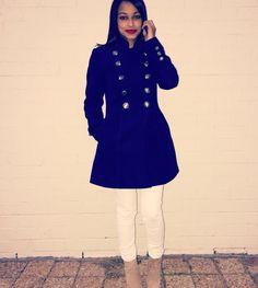 I love winter for beautiful coats