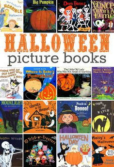 Need to find some of these Halloween Books. They look fun! (Halloween Books)