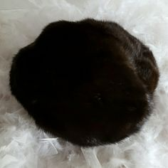 Chocolate brown mink beret Warm and luxurious mink beret. Just in time for winter. Buy it now. Lord & Taylor Accessories Hats