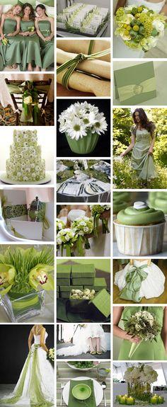 Green wedding theme Green sash on wedding dress? Green Wedding, Summer Wedding, Our Wedding, Wedding Color Schemes, Wedding Colors, Wedding Flowers, Wedding Themes, Wedding Decorations, Wedding Ideas