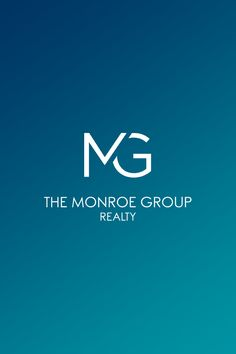 The Monroe Group Realty | Real Estate Logo Design and Brand Identity by Lindsey Created | www.lindseycreated.com | #branding | Modern Monogram Logo