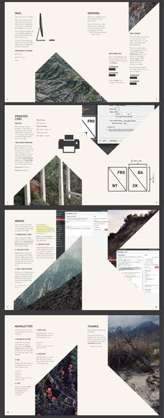 #4 - 3/5 Webmaster Manual by Jake Hill. The way these images are cropped creates a lot of visual interest and helps draw the readers eye to the next piece of information.