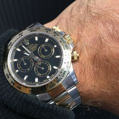 The new style for 2016 Rolex Daytona in steel & gold available now!