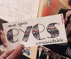 One Direction: Irresistible Lyric Art!