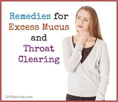 Excess mucus in throat is called catarrh. If you feel like you have to constantly clear your throat, you have catarrh. Let's talk about ways to find natural relief.